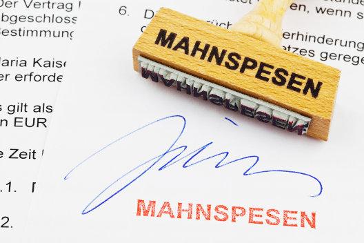 metasfresh ERP Mahnung